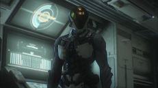 Il corpo di Talos è quasi completamente cyborg, si direbbe molto più di Briareos. È probabile che solo il volto, il cervello e la spina dorsale siano rimasti umani, ma è una mia supposizione.