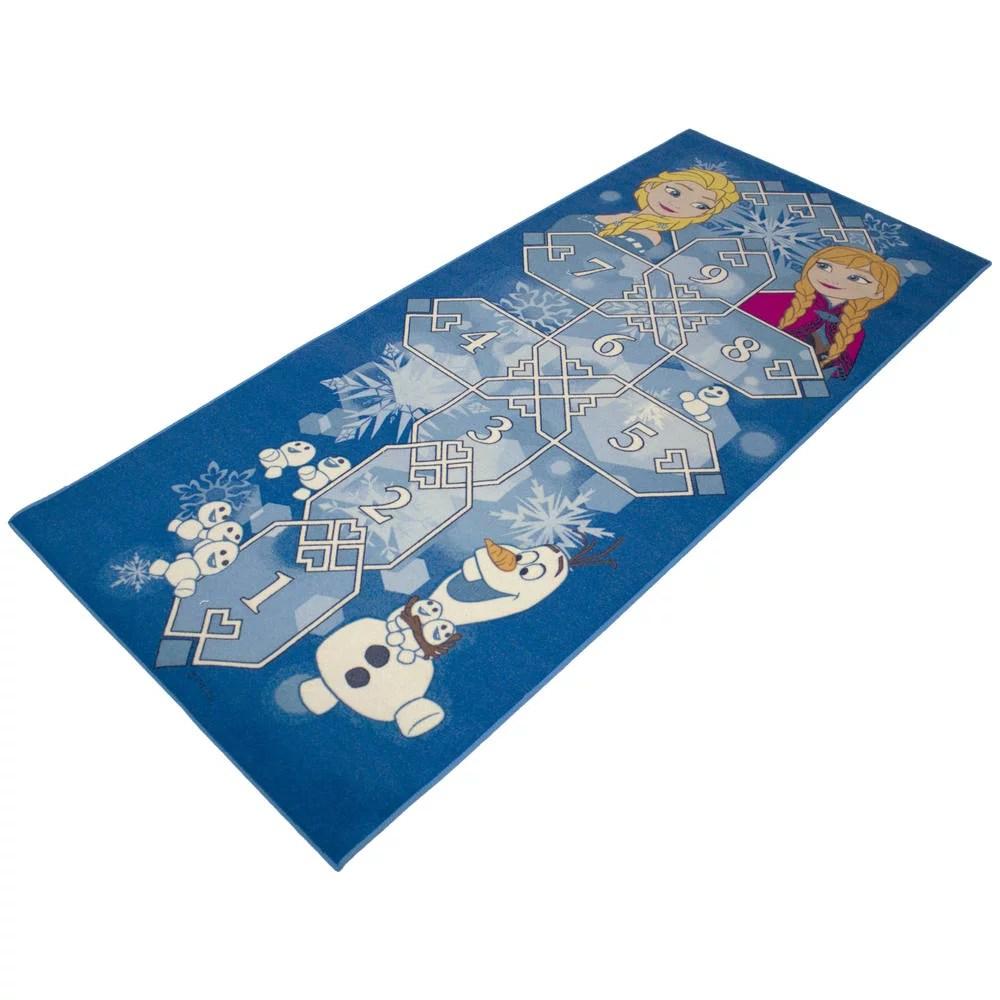 tapis marelle la reine des neiges