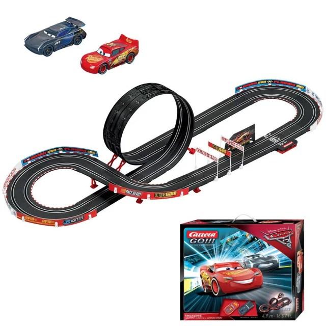 Circuit carrera go!!! disney pixar cars 17 - finish first