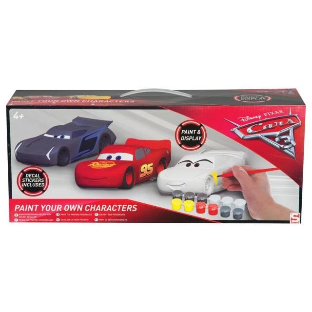 Pack de figurines a peindre - cars 17  activites creatives et