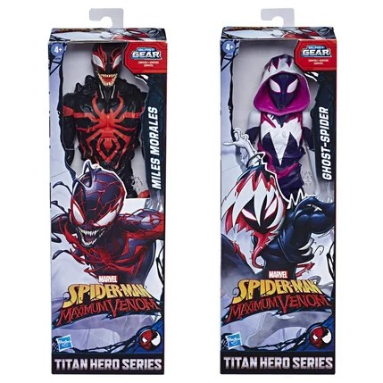 figurine spiderman titan max venom 30 cm