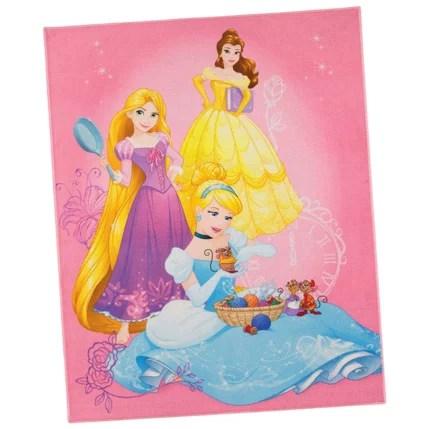 tapis les princesses de disney