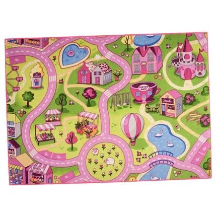 tapis rose sweet town