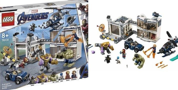 LEGO spoile à son tour Marvel Avengers : Endgame 1