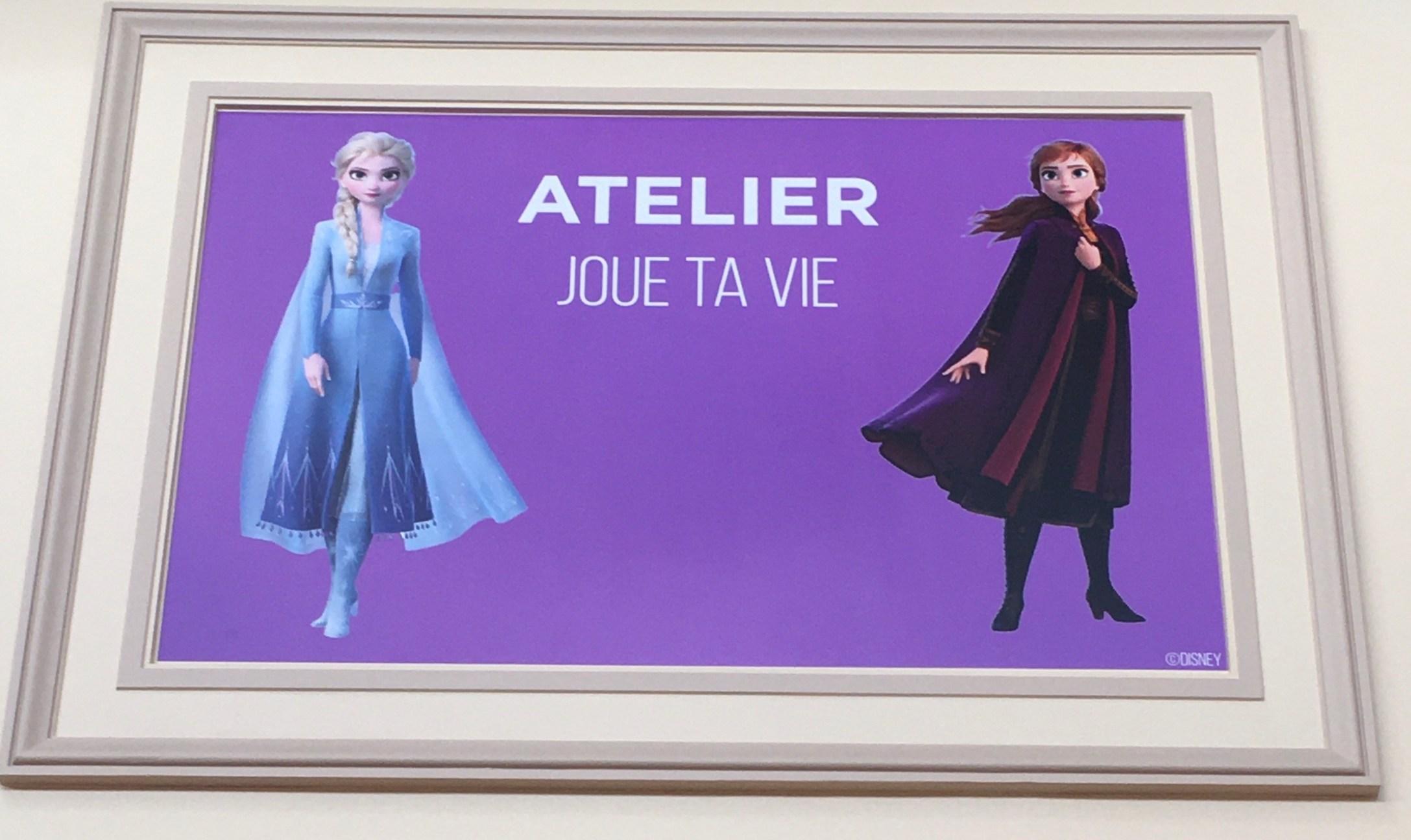 Atelier Joue ta Vie pour Disney