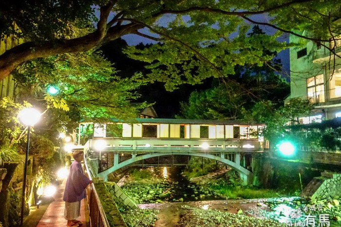 [遊記] 有馬溫泉,在山溪穿過的月光園鴻朧館一泊二食享受寧靜精緻的夜晚-Day4-4