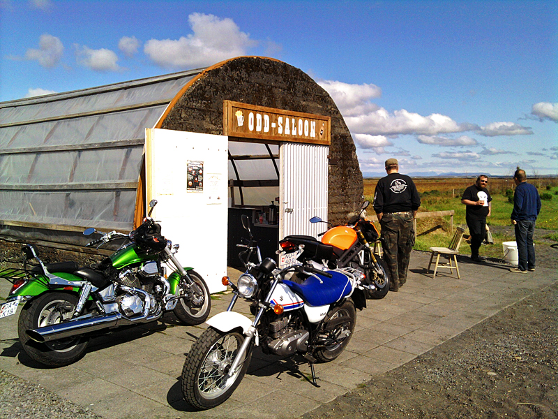 Der Saloon in Þykkvybær