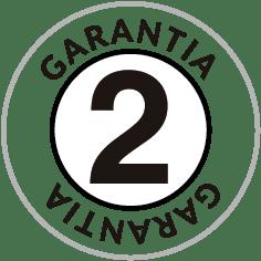 Garantía de 2 años