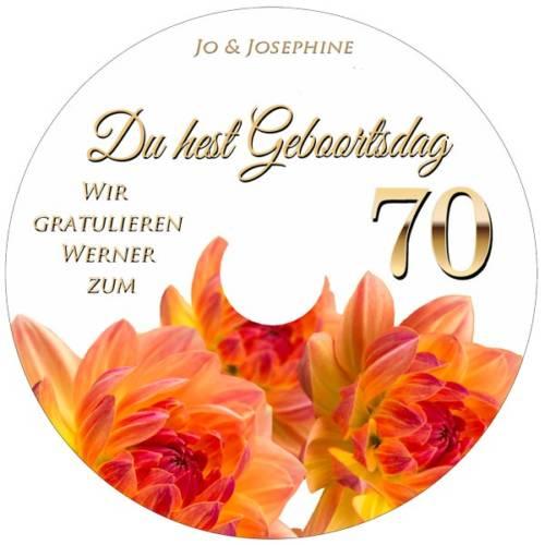 Gluckwunsche Zum 70 Geburtstag 70 Spruche 7 Mustertexte Zum