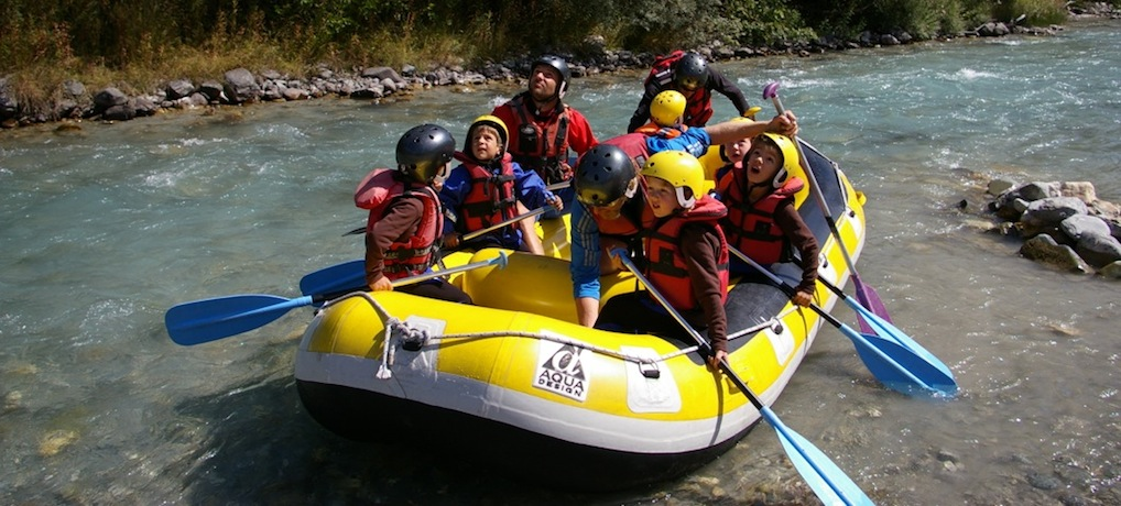 Des descentes en rafting accessibles à tous