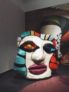 "Niki de Saint Phalle, ""Tête blanche"""