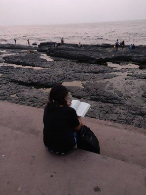 Bandstand, Mumbai offers readers the smell of ocean salt and spray.