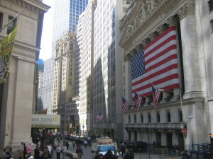 The Stock Exchange on Wall Street