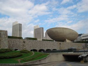 Empire Plaza Albany is based on Le Corbu's Design