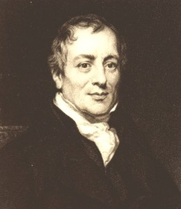 David Ricardo--First Known Model of Comparative Advantage