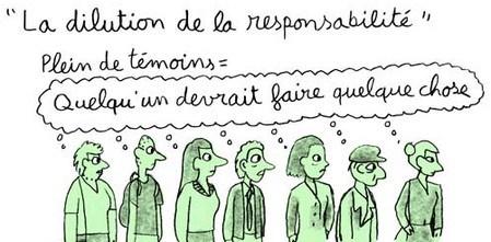 La dilution de responsabilité. Détail ©projetcrocodiles.tumblr.com