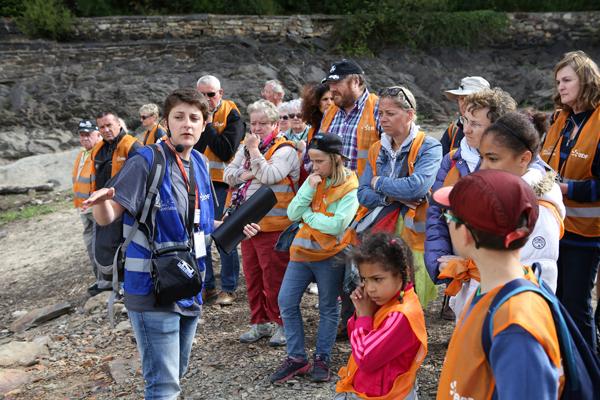 Emmanuelle Givers guide de l'office du tourisme de Pontivy © Charles Crié/CCAS