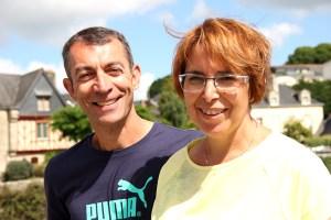 Marie et Philippe Marion, bénéficiaires de Toulouse en vacances à Baden ©Noémie Coppin/ccas