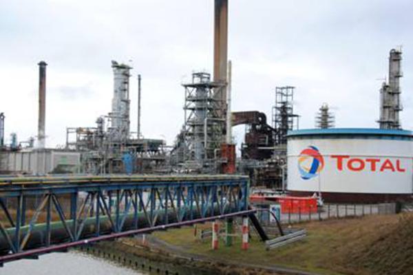 La Raffinerie Total Dunkerque © Ludovic Finez