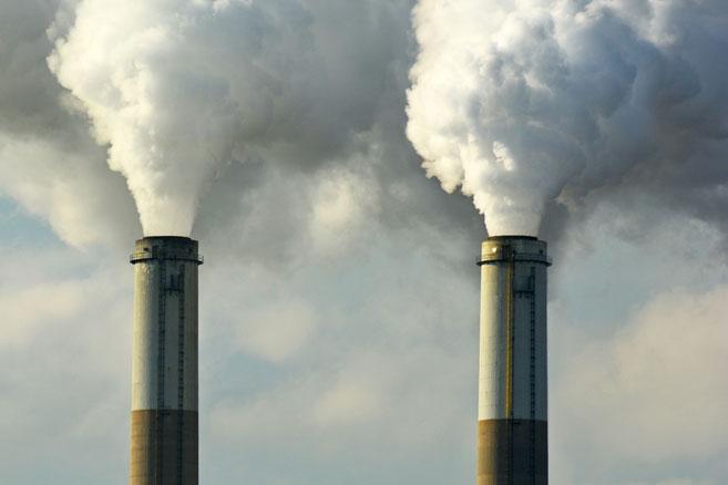 Rejet de CO2 © Jeff Zehnder/CCAS