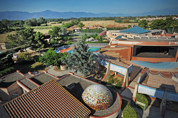 Centre de vacances de Saint Cyprien, dans le département des Pyrénées-Orientales.