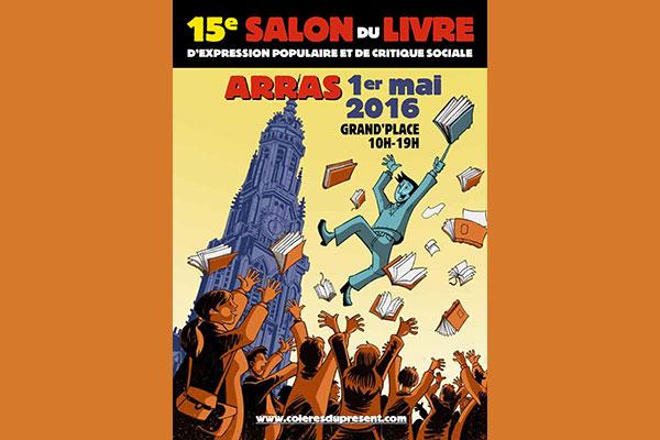 Affiche Salon du Livre d'Arras