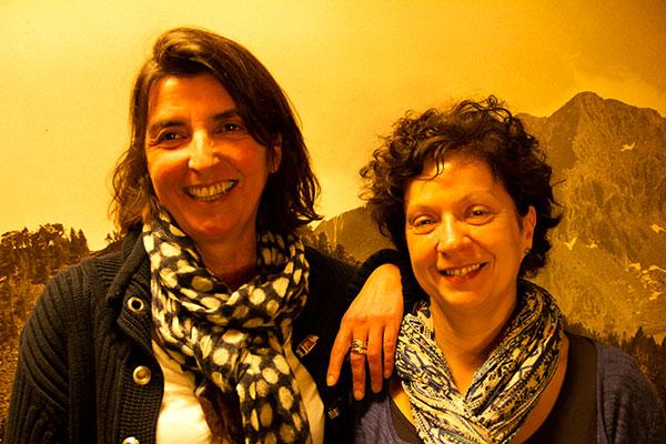Valérie Pineau et son amie © Noémie Coppin