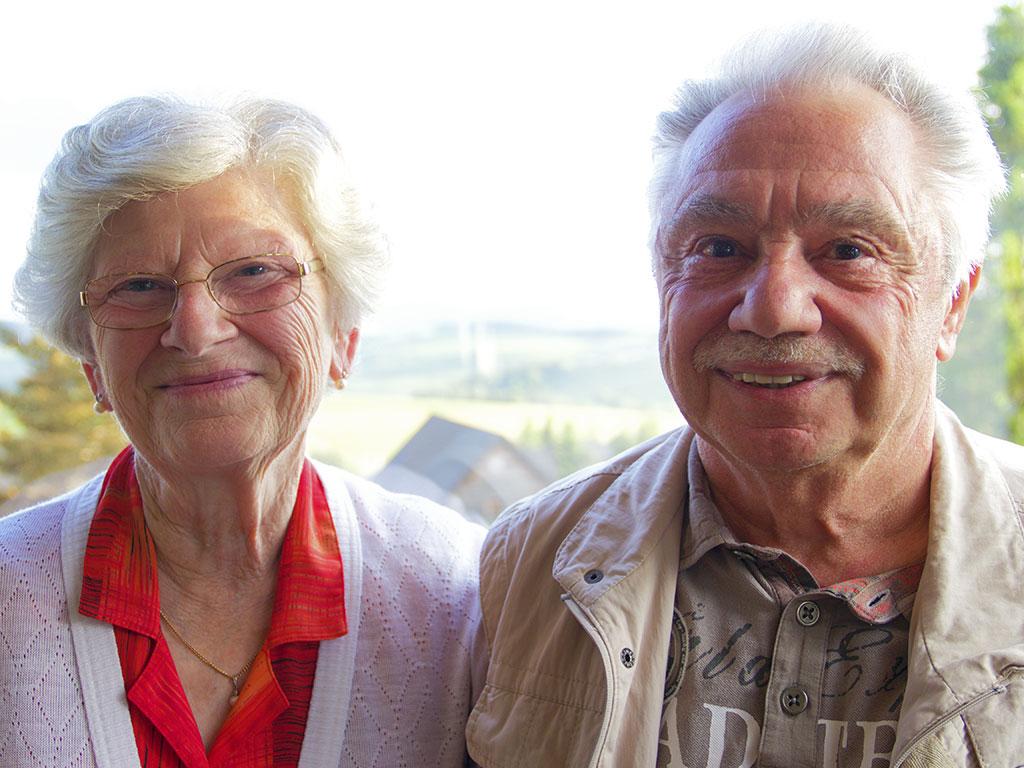 Nicole et Jean-Pierre Destanque, retraités d'EDF © N.Coppin/ccas