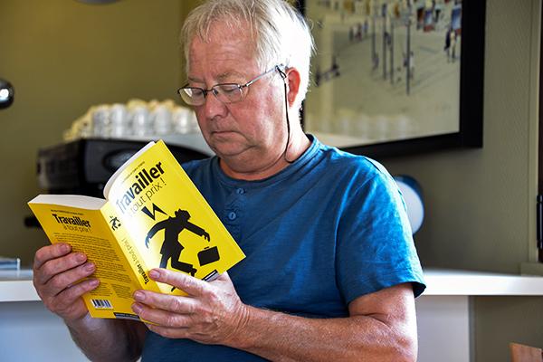 """Présentation du livre """"Travailler à tout prix"""" ©E.Rebiffé/ccas"""
