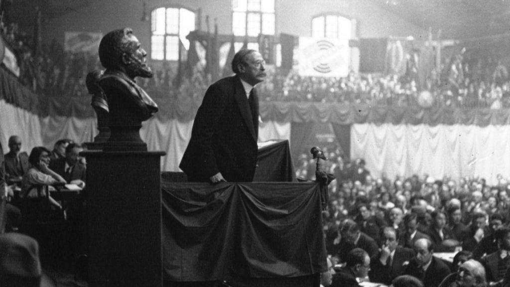 Congrès socialiste : discours de Léon Blum. © Galllica