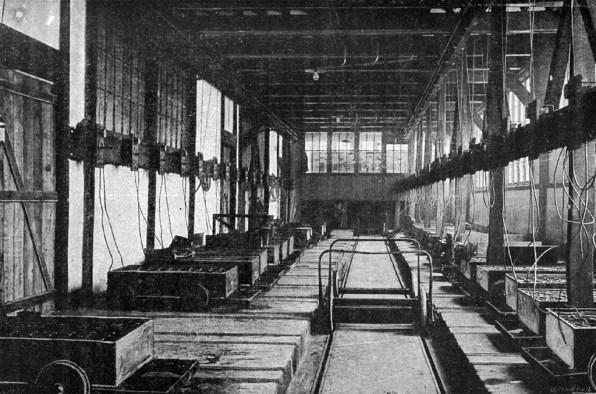 Salles de charge de la Compagnie générale des voitures.