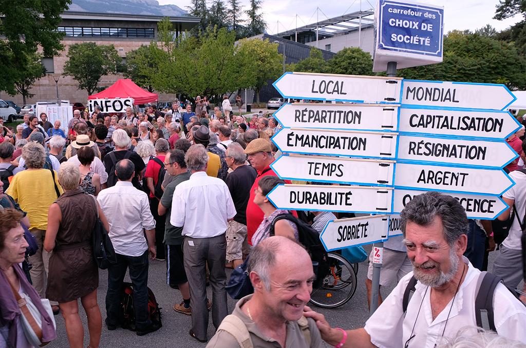 L'université d'été solidaire et rebelle des mouvements sociaux a rassemblé plus de 2000 personnes à Grenoble, du 22 au 26 août. ©Samy Archimède/CCAS