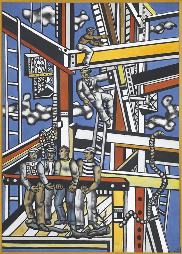 Les constructeurs (état définitif), 1950. ©Fenand Léger/ ADAGP
