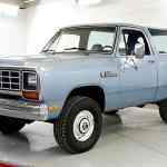 Low Mileage 1984 Dodge Ramcharger 4x4 Appears To Be Original Survivor