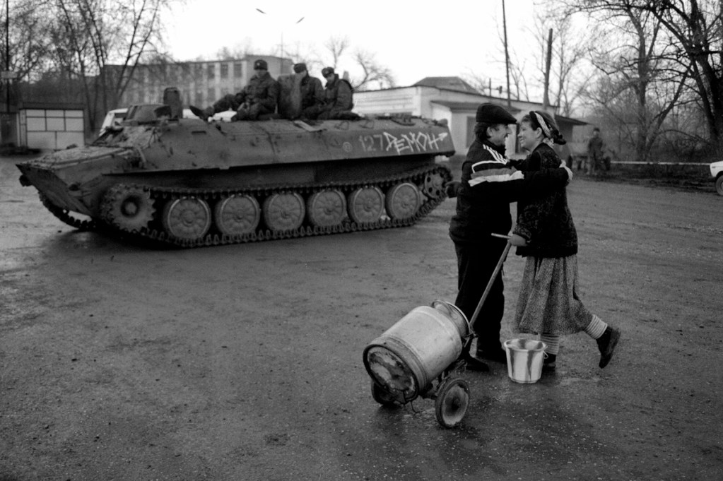 Грозный, апрель 1995