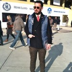 Grungy Gentleman's Pitti street style.