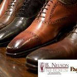 Nick V. talks with Peter Agati, Paul Stuart's Director of Footwear