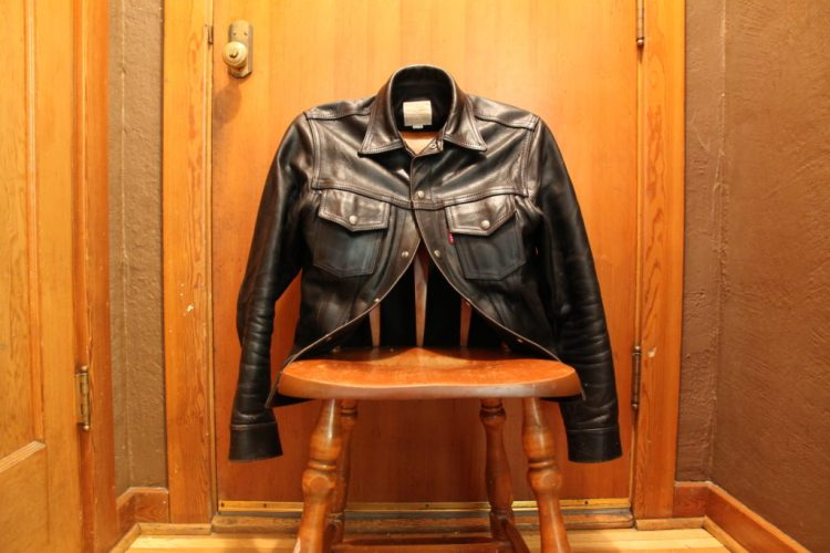 Aero Type 3 Leather Jacket front view