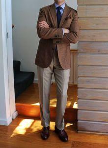 Brown blazer