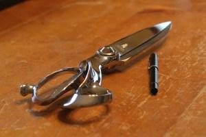 heavy tailor's shears