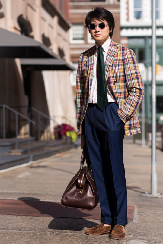 colors in menswear