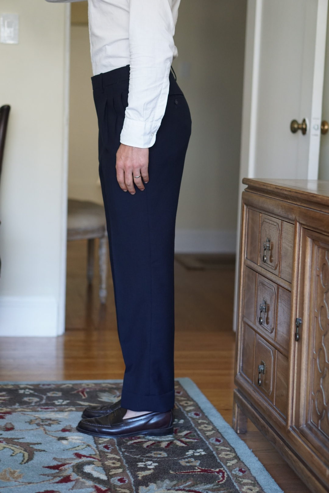 a guide to how trousers should fit styleforum Dylan & Sons