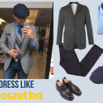 Mixing Menswear Textures with Poszetka