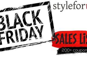 The Styleforum Black Friday 2017 Guide: Best Menswear Sales