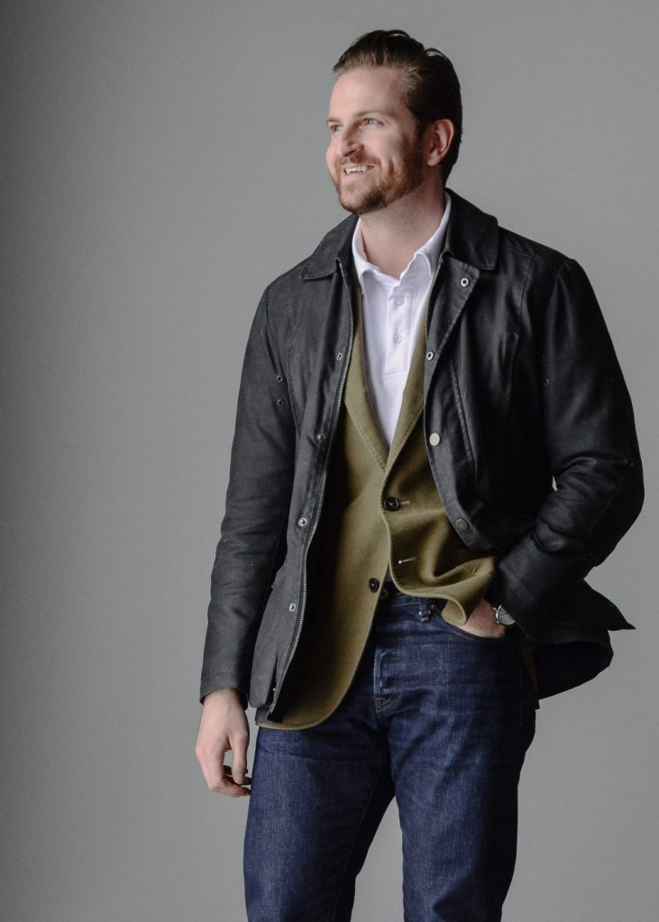 barbour casual outerwear styleforum outfit