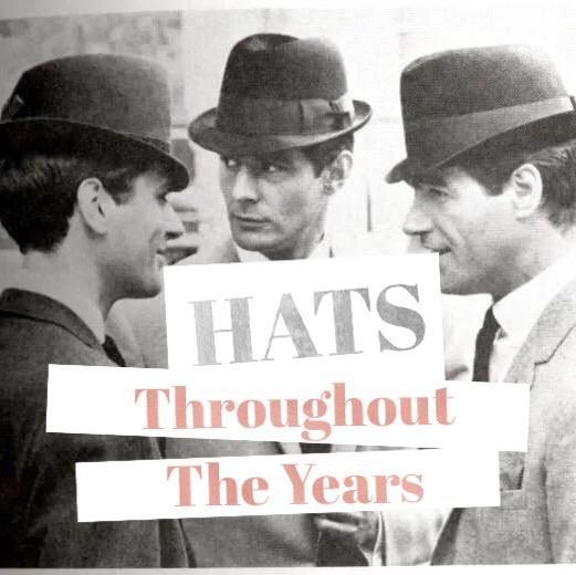 vintage men hats
