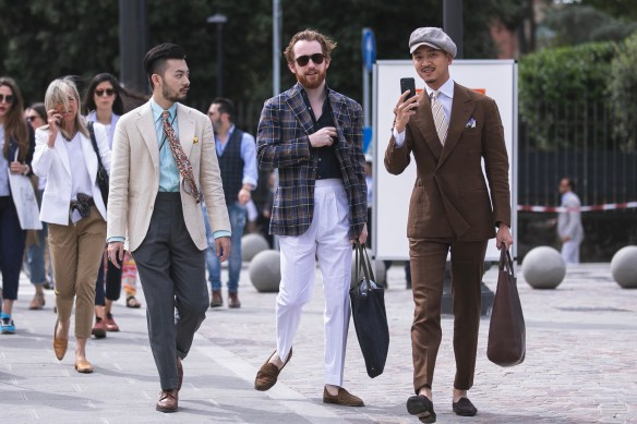 pitti uomo 94 streetstyle suit best outfit men menswear