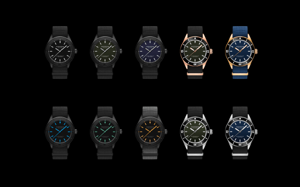 hoffman watches color options kickstarter