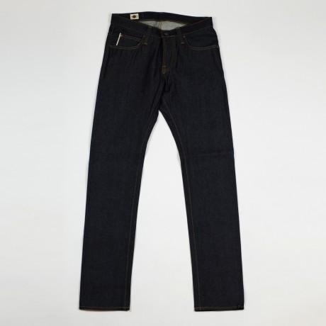 BIG JOHN Slim tapered jeans, 14 oz raw denim - via No Man Walks Alone