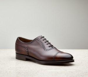Cap toe oxford shoe - Edward Green